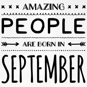 Geburtstag AMAZING PEOPLE are born in SEPTEMBER - Flexfit Baseballkappe