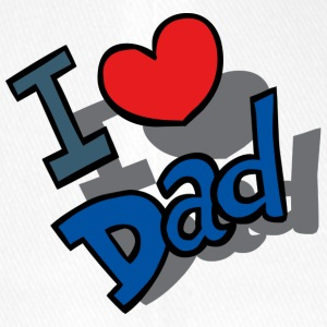 I-Love-Dad - Flexfit basebollkeps