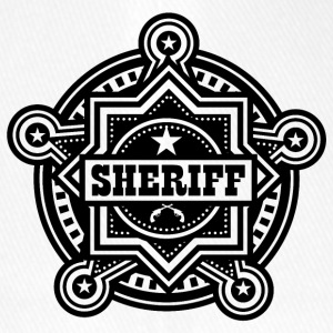 Badge of sheriff or Marshall - Flexfit Baseball Cap