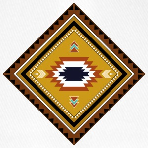 native american pattern - Flexfit Baseballkappe