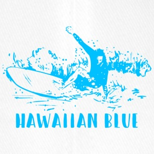 Hawaiian Blue Surfer - Casquette Flexfit
