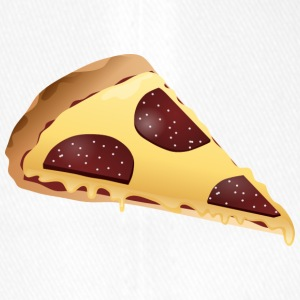 pizza slice - Flexfit baseballcap