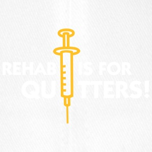 Rehab Is For Quitters - Flexfit Baseball Cap