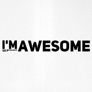 i'm so f* awesome - Flexfit Baseballkappe