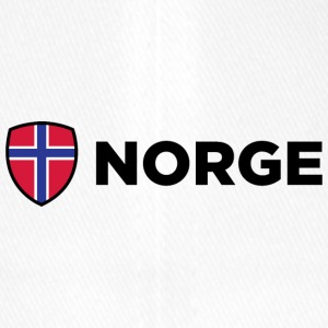 Nationalflagge von Norwegen - Flexfit Baseballkappe