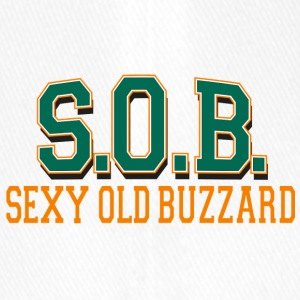 SOB Sexy Old Buzzard - Flexfit Baseball Cap