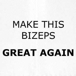 MAKE THIS BIZEPS GREAT AGAIN - Flexfit Baseballkappe