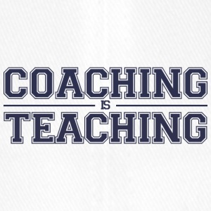 Coach / Trainer: Coaching Is Teaching - Flexfit Baseball Cap