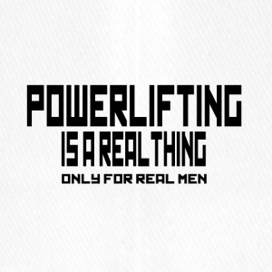REAL THING powerlifting - Flexfit Baseball Cap