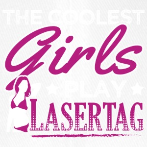COOLEST GIRLS PLAY LASERTAG - Flexfit Baseballkappe