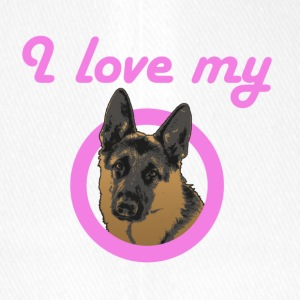 I Love My German Shepherd! - Flexfit Baseball Cap