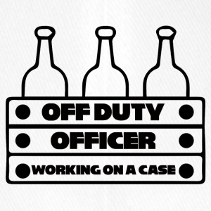 Police: Off Duty Officer - Working on a Case - Flexfit Baseball Cap