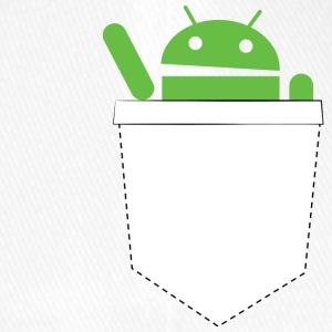 Pocket android - Cappello con visiera Flexfit
