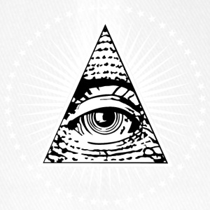 Illuminati Eye of Providence - Flexfit Baseball Cap