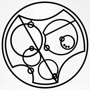 I Love You Gallifreyan - Czapka z daszkiem flexfit