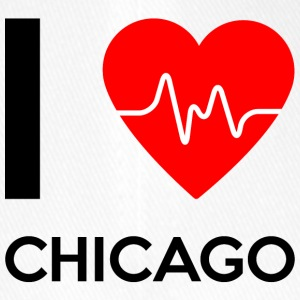 I Love Chicago - I love Chicago - Flexfit Baseball Cap