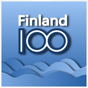 Finland 100 years of independence - Flexfit lippis