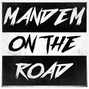 mandem_on_the_road0000 - Flexfit Baseballkappe