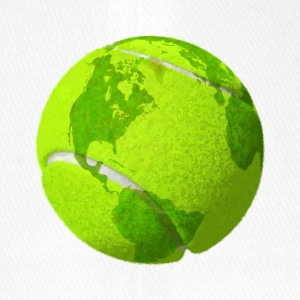 tennispallo planeetta maa globe tennispallo earth - Flexfit lippis