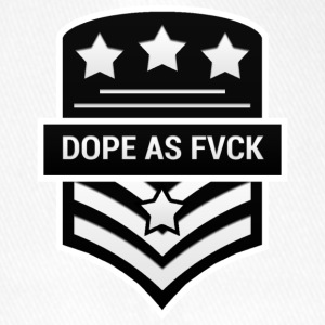 Dope As Fvck - Flexfit Baseballkappe