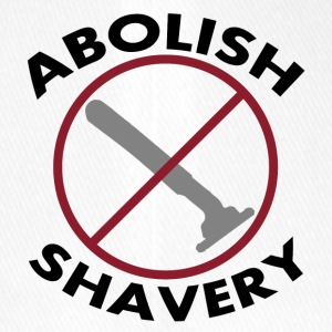 Shaving abolish Cool sayings - Flexfit Baseball Cap