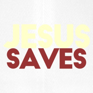 Jesus Saves - Flexfit Baseballkappe