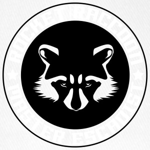 Rocket raccoon logo full - Casquette Flexfit