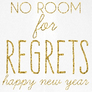 New Years Eve: No Room For Regrets. Happy - Flexfit Baseball Cap