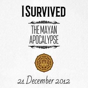 I survived the Mayan Apocalypse - Flexfit Baseballkappe