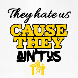 They hate us cause they ain't us - Flexfit Baseballkappe