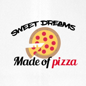 Sweet dreams are made of pizza - Flexfit Baseballkappe