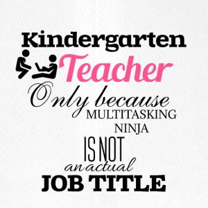 Kindergarten Teacher - Flexfit Baseballkappe