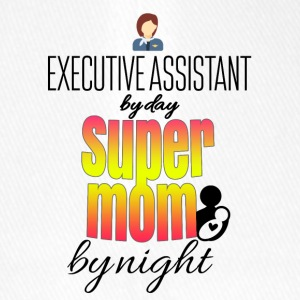 Executive Assistant dagen super mamma om natten - Flexfit baseballcap