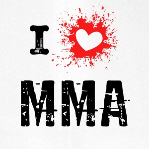 j'aime MMA - Mixed Martial Arts, bjj r - Casquette Flexfit