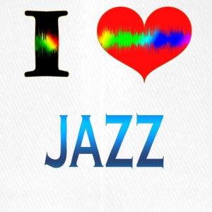 I Love JAZZ - Flexfit Baseballkappe