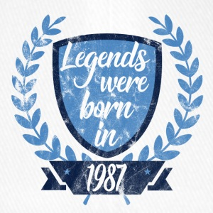 Legends were born 1987 - Flexfit Baseball Cap
