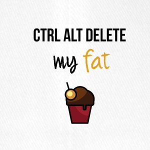 Delete my fat - Flexfit Baseball Cap