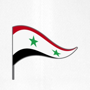 Banner. Flag. Country flag. Country. Syria. Syria. - Flexfit Baseball Cap