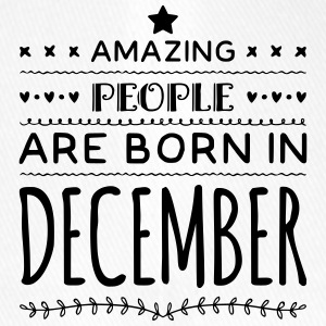 Geburtstag AMAZING PEOPLE are born in DECEMBER - Flexfit Baseballkappe