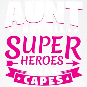 AUNT NOT ALL SUPERHEROES WEAR CAPES - Flexfit Baseballkappe