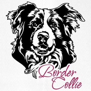 Border Collie - Flexfit Baseballkappe