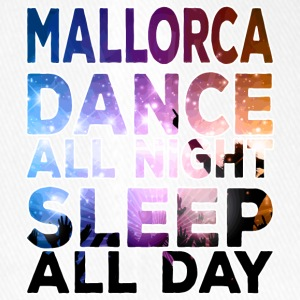 MALLORCA - Dance all night sleep all day - Flexfit Baseballkappe