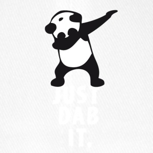 dab just panda dabbing dub dance cool LOL funny - Flexfit Baseball Cap