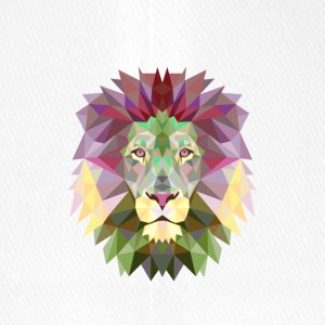 Lion Lion Mandala Jungle King Yoga Meditazione - Cappello con visiera Flexfit