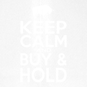 Keep Calm And Buy And Hold - Flexfit Baseball Cap