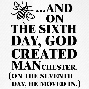 GOD CREATED MANCHESTER - Casquette Flexfit