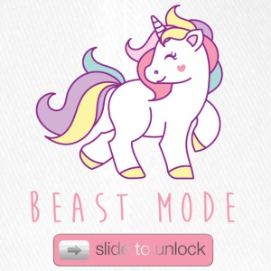 Slide to unlock Unicorns BEAST MODE - Flexfit Baseball Cap