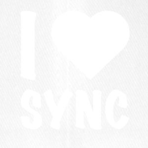DJ - I Love Sync - Flexfit Baseball Cap