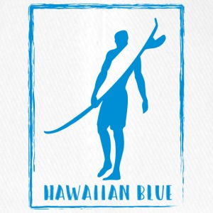 Logotipo de Hawaiian Blue Surfer - Gorra de béisbol Flexfit
