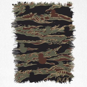 Bad Duck camo # 1 - Flexfit baseballcap
